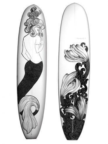 Mermaid Surfboard